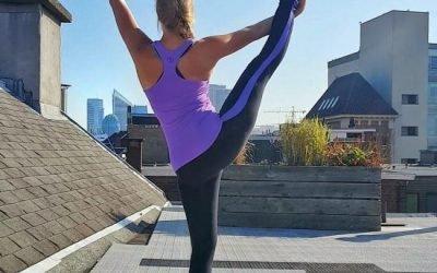 Lotta test: Yoga met een skyline view!